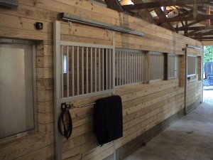 aluminum horse stall fronts