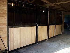 stall fronts